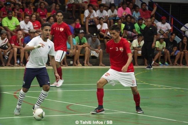 Tahiti a pris 3 buts dans ce match, sans en marquer aucun.