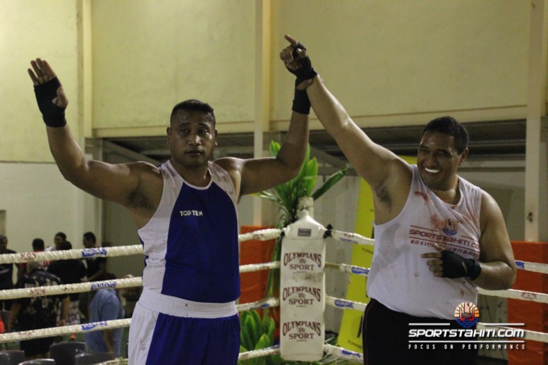 Boxe « Sportstahiti.com boxing trnmt Round 2″ : Tahitiens et calédoniens se neutralisent