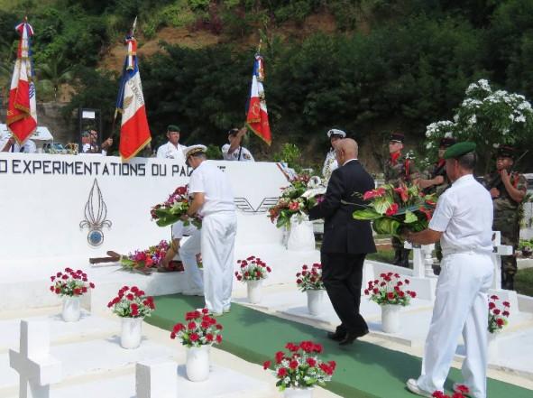 Cérémonie organisée à l'occasion de l'anniversaire du combat de Camerone (Diaporama)
