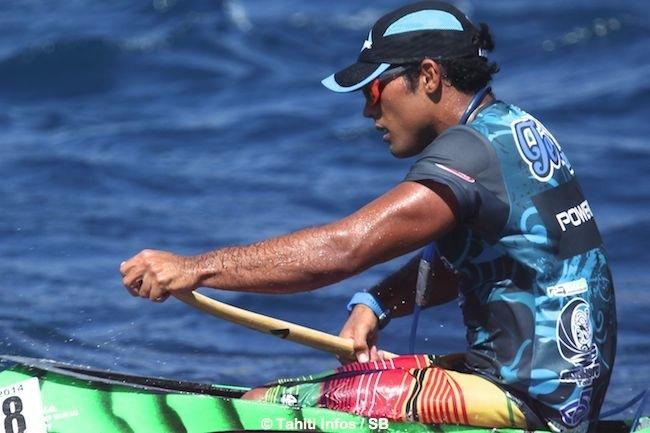 Taaroa Dubois, comme Guy Temauri est éducateur sportif diplômé en va'a. (archives)