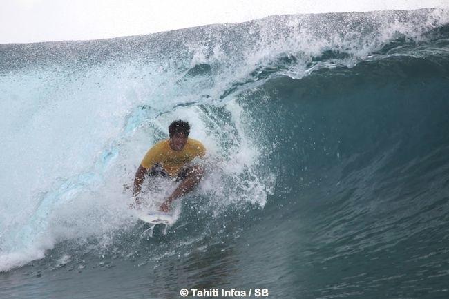 Il n'aura suffit que 2 vagues à O'Neil pour remporter sa série du round 3
