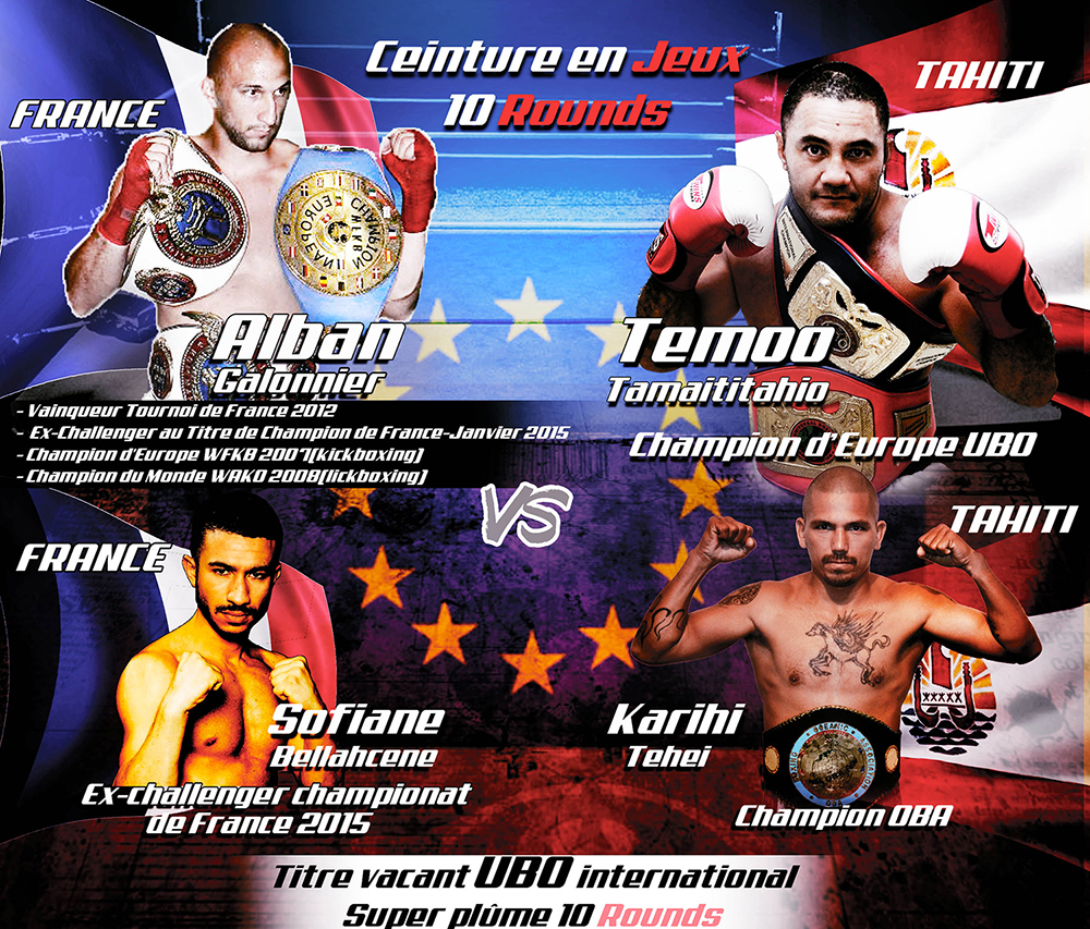 Boxe: les championnats UBO en direct et en exclusivité sur TNTV demain soir