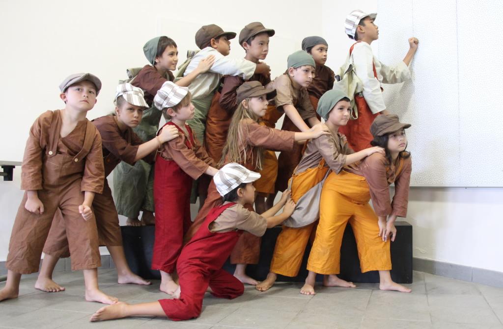 Les enfants du Levant : opéra historique avec les élèves du conservatoire