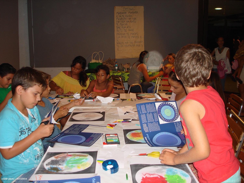 Des ateliers sont prévus pour les enfants et des visites guidées pour les adultes. Photo : Musée de Tahiti et des îles