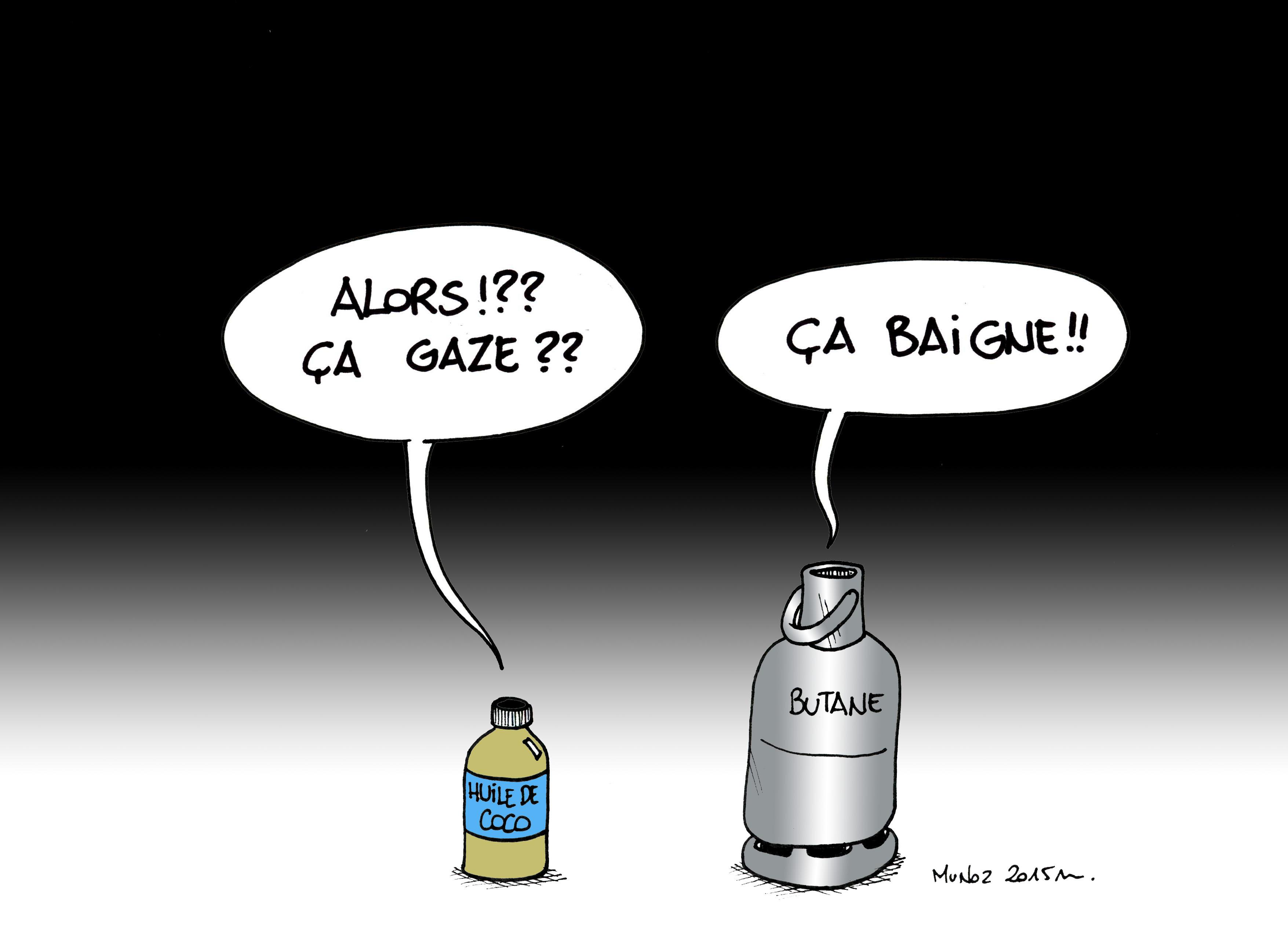 La pénurie de gaz par Munoz