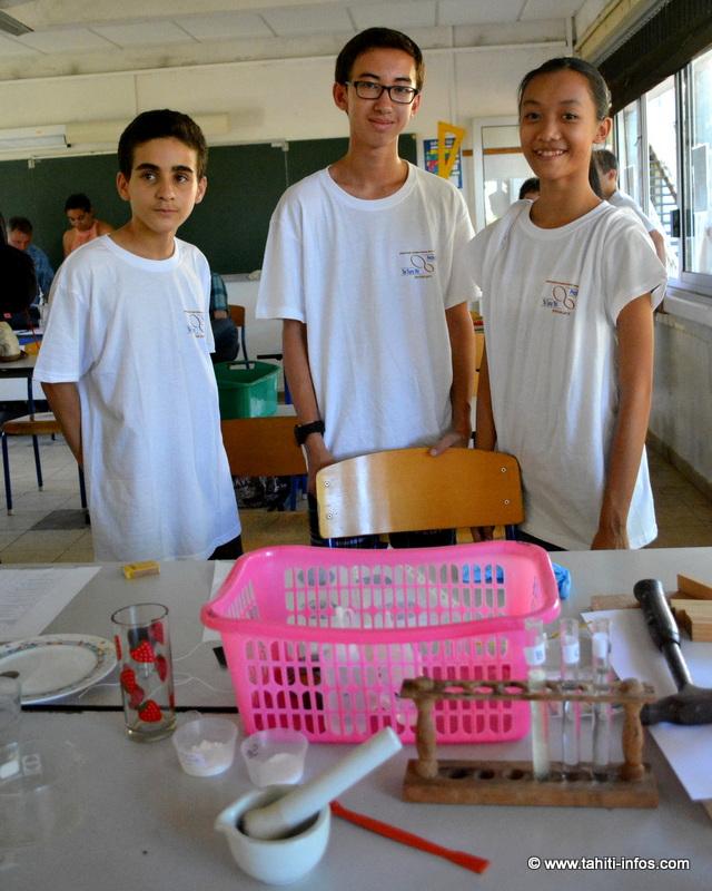 Le concours scientifique des collèges est remporté par… Punaauia