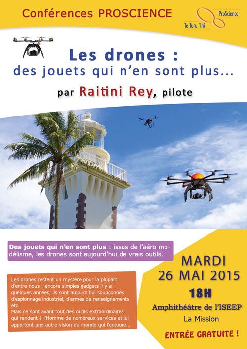 Vous saurez tout sur les drones le 26 mai
