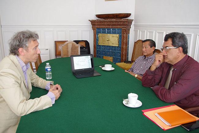 Le projet Moana Nui présenté au président Edouard Fritch