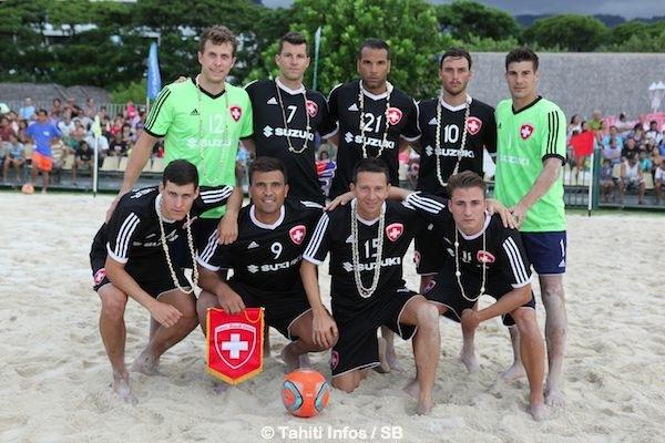 L'équipe de Suisse a fait un bon match.