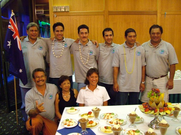 Coupe Léon NANAI et championnat de pêche sous marine de Polynésie par équipes 2015 ce samedi 23 mai