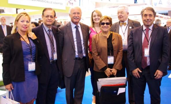 Salons de la Santé et de l'Autonomie : Patrick Howell rencontre Marisol Touraine