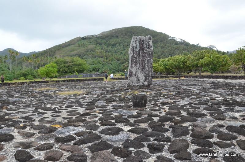 Le marae Taputapuātea était un centre politique et religieux dans le monde polynésiens avant l'arrivée des européens