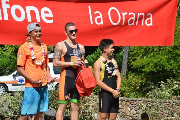 Aquathlon « championnat de Polynésie » : Alexandre Buvry et Marion Legrand vainqueurs