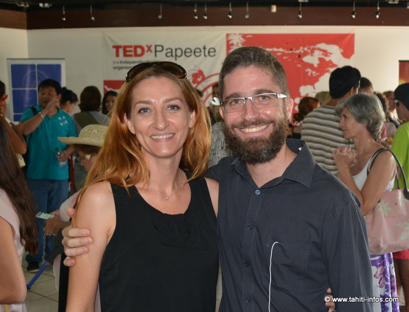 Karine Le Flanchec et Philippe Lemonnier