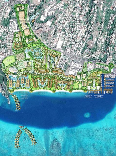 Tahiti Mahana Beach : prochaine étape début juillet