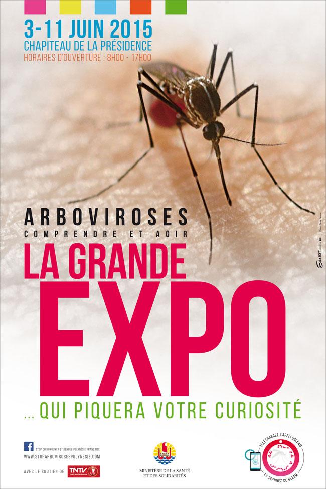 Dengue, zika, chikungunya : La grande expo qui piquera votre curiosité