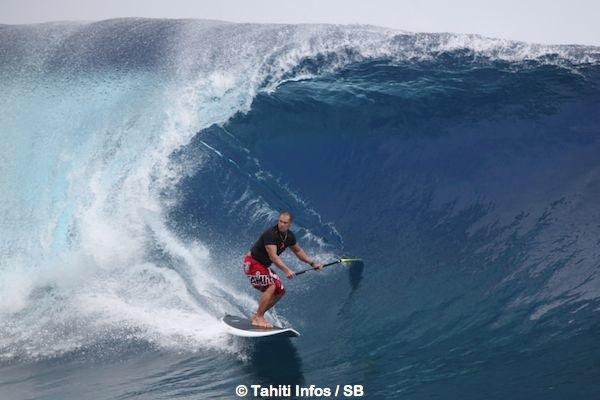 Les Trialistes ont pu bénéficier de vagues consistantes
