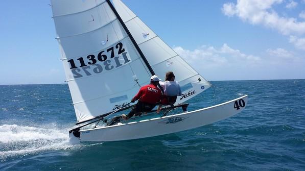 Optimist / Hobie cat 16 : Les champions de Polynésie connus