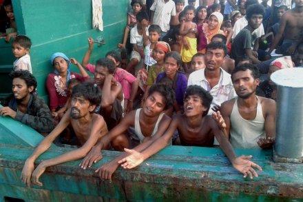 Depuis 2013, l'Australie intercepte et refoule les migrants  birmans et bangladais.