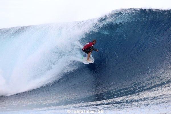 La vague de la victoire de Zane : 9.33.