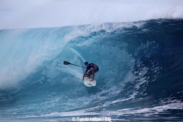 Sean Poynter, un surf efficace.