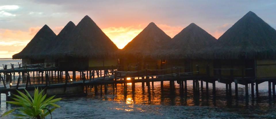 Le soleil s'est couché en mars dernier sur l'hôtel Hawaiki Nui de Raiatea