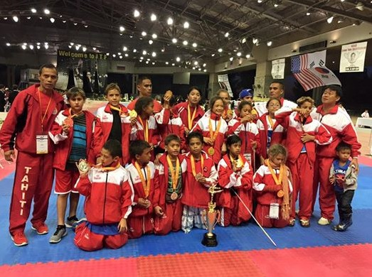 "TKD ""Los Angeles International Taekwondo Festival"" : Pluie de médailles pour Tahiti"