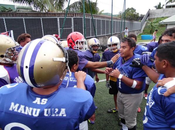 Foot-US : La finale opposera les To'a Oviri à Manu Ura !