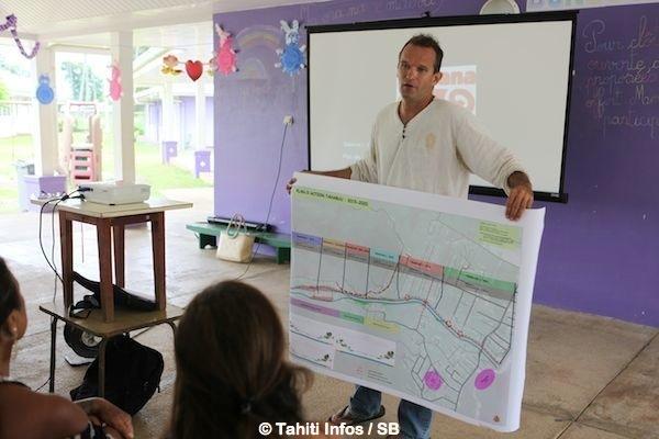 Charles Egretaud a été chargé de l'étude environnementale qui n'a pas fait l'unanimité chez les riverains.