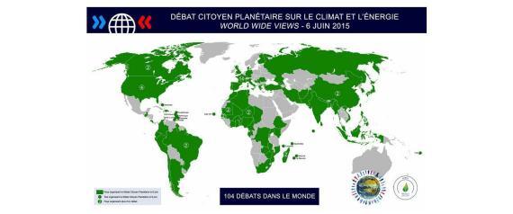De Fidji aux Etats-Unis, un débat citoyen planétaire sur le climat