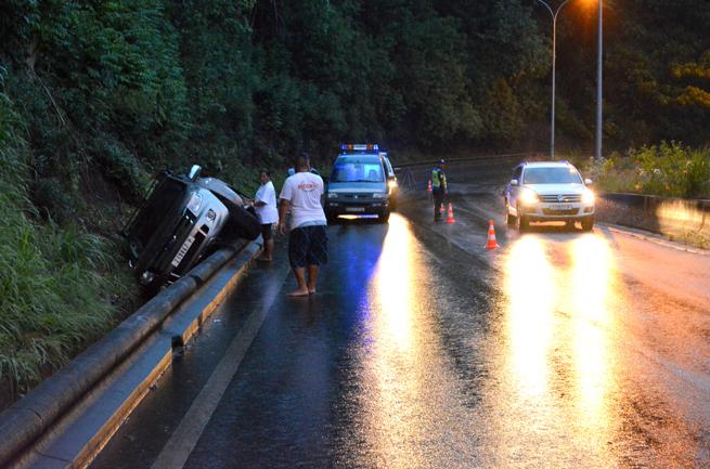 Depuis le début de l'année on déplore 65 accidents en Polynésie contre 81 à la même époque l'an dernier (Photo d'archives).