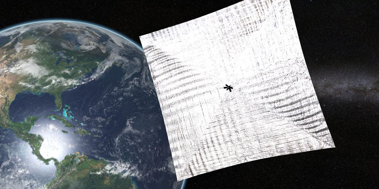 Espace : la voile solaire de Planetary Society s'est déployée avec succès