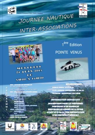 Handisport : Journée nautique inter-association le 24 juin