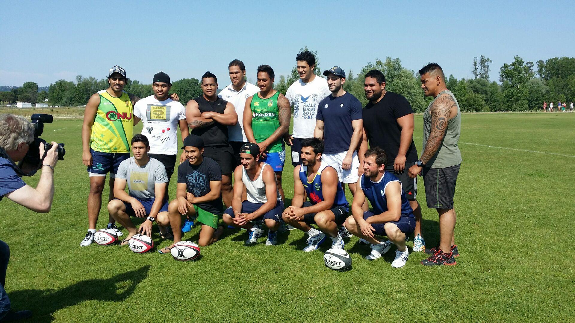 Rugby : Les « tahitiens de France » se préparent pour les Oceania