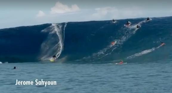 Les plus belles vagues de Teahupo'o en vidéo