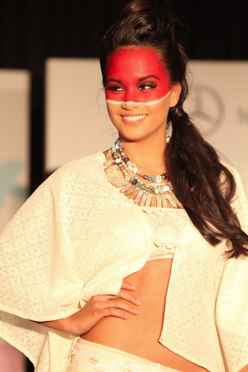 Ohana Huber, dauphine de Miss Tahiti en 2013..