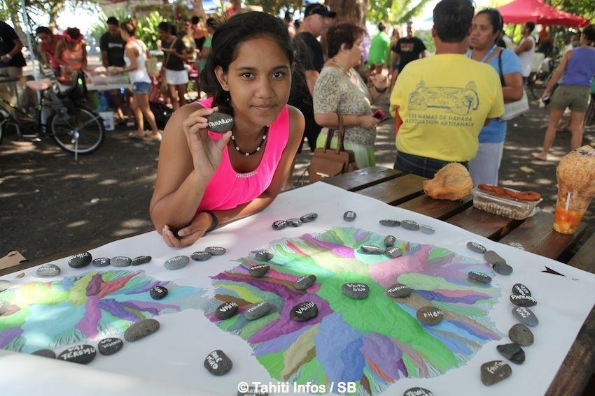 Le Collectif Tahiti Nui Te Vai Uri Rau et sa carte des bassins versants de Tahiti