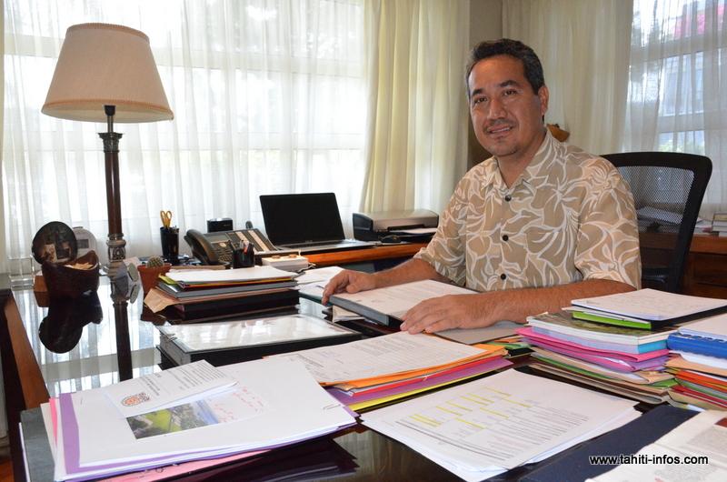 """Tapura Huira'atira : """"La collectivité a besoin d'élus sérieux et responsables"""", souligne Marcel Tuihani"""