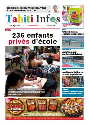 TAHITI INFOS N°436 du 18 juin 2015