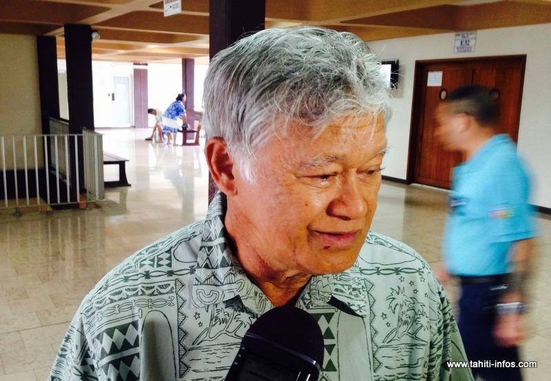 """Temauri Foster s'est dit """"soulagé"""" jeudi matin après sa condamnation en appel dans l'affaire Sofrecom"""