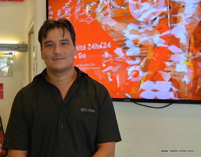 """Une fois que le niveau d'équilibre sera atteint, l'objectif suivant de Vodafone sera """"que les Polynésiens puissent avoir de la vraie 3G partout"""" explique Patrick Moux, le directeur général."""
