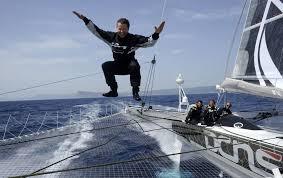 Record du Pacifique - Thébault et L'Hydroptère: départ lundi