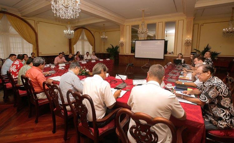 Ce 2ème comité de pilotage était notamment l'occasion de faire un point sur l'avancée de la démarche institutionnelle de ce dossier.