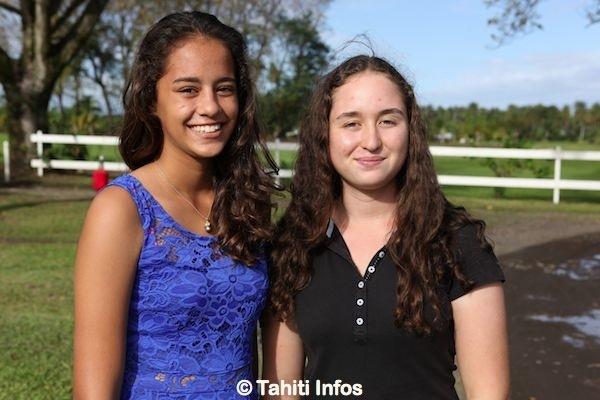 Maggy et Mareva sont toutes deux sélectionnées pour les jeux du Pacifique