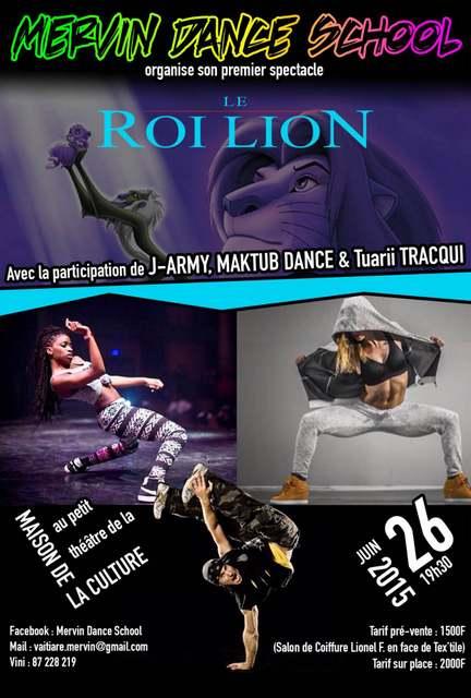 Le Roi lion version street dance