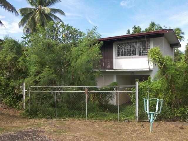 Voici une des quatre maisons mises en vente par l'État à Faa'a.