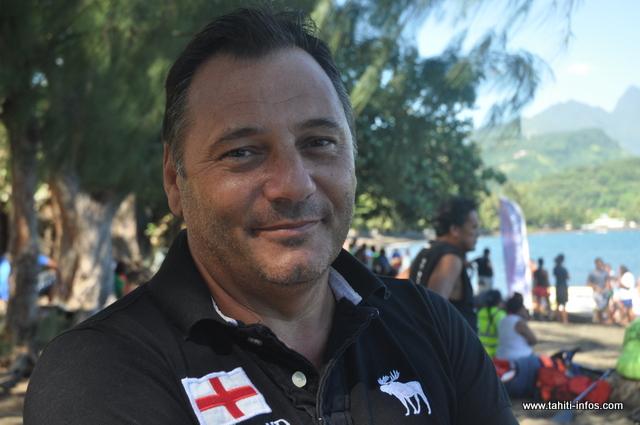 Alain Barrere, directeur de la Fédération Polynésienne de Sports Adaptés et Handisport