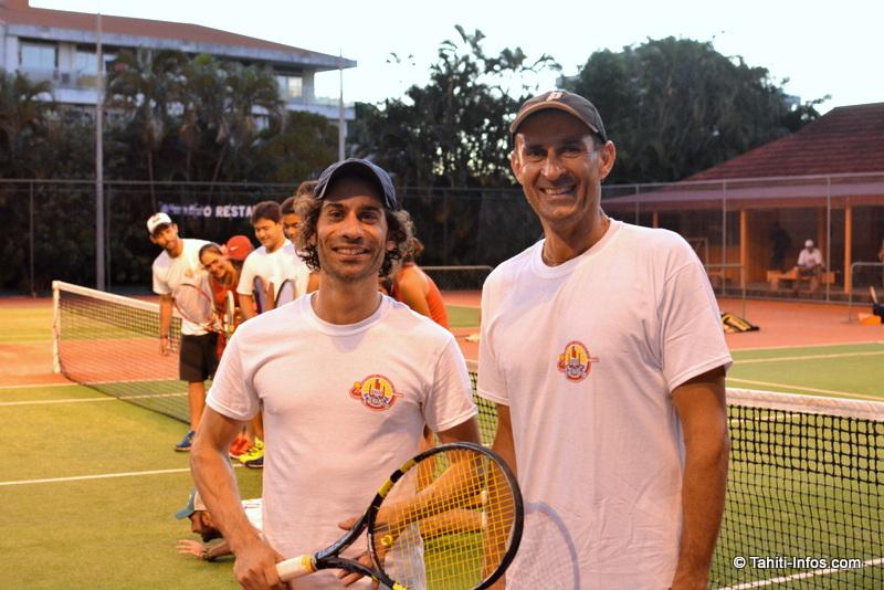 Jeux du Pacifique : deux Australiens pour entraîner notre équipe de tennis