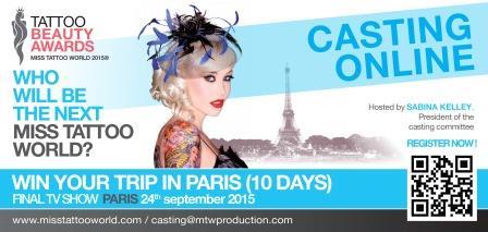Miss Tattoo World, un événement international né au fenua