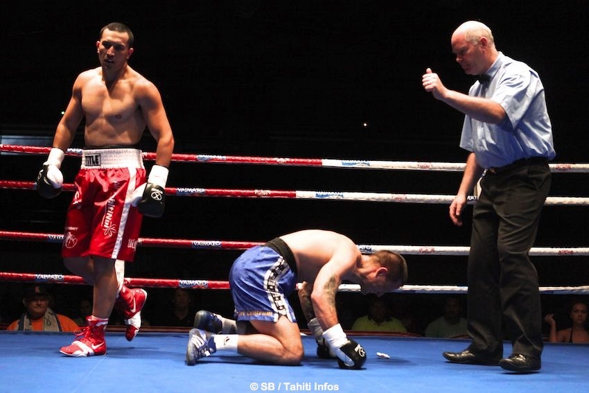 Il n'a fallu que 26 secondes à Cédric Bellais pour mettre KO le Tchèque Tomas Man.